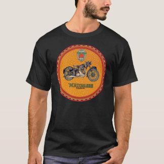 Signe incomparable vintage de moto d'homme du t-shirt