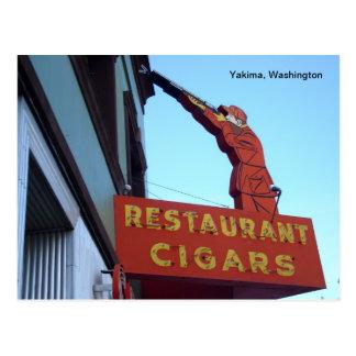 Signe Yakima, Washington de centre de sports Carte Postale