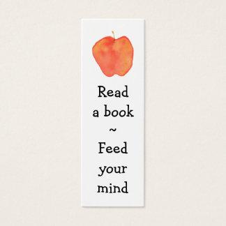 Signet d'Apple de lecture mini - Mini Carte De Visite