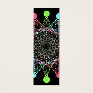 Signet d'étoile de couleur mini mini carte de visite
