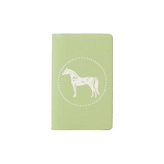 Silhouette Arabe de cheval Carnet Moleskine De Poche