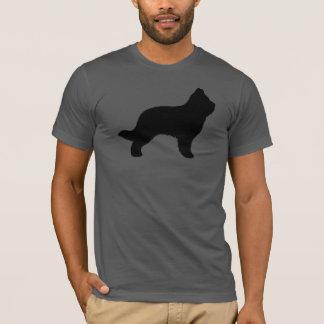 Silhouette de Briard T-shirt