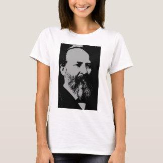 Silhouette de James Abram Garfield T-shirt