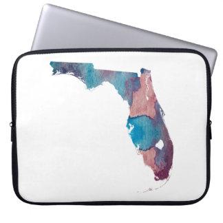 Silhouette de la Floride Protection Pour Ordinateur Portable