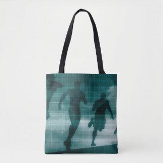 Silhouette de logiciel de traqueur de la forme sac