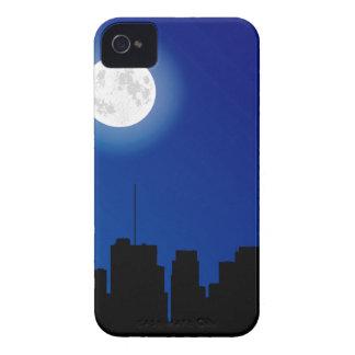 Silhouette de paysage urbain coque iPhone 4 Case-Mate