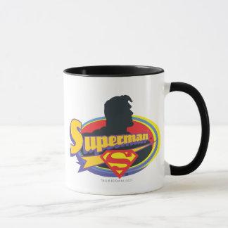 Silhouette de Superman Mug