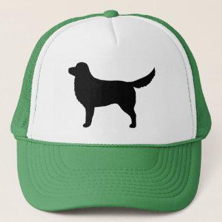Silhouette de tintement de chien d'arrêt de canard casquette