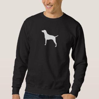 Silhouette de Vizsla Sweatshirt