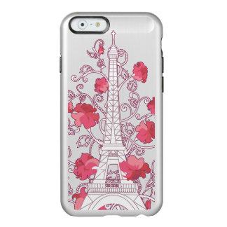 Silhouette élégante élégante de Tour Eiffel de Coque iPhone 6 Incipio Feather® Shine