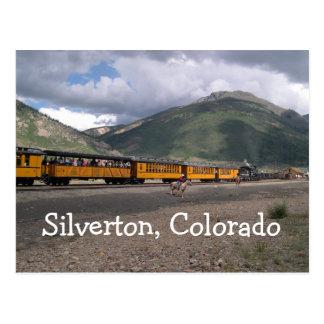 Silverton, carte postale du Colorado