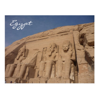 simbel Egypte d'abu Carte Postale