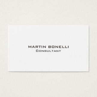 Simple propre simple indestructible cartes de visite