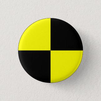 Simulacre d'essai d'accident badge rond 2,50 cm