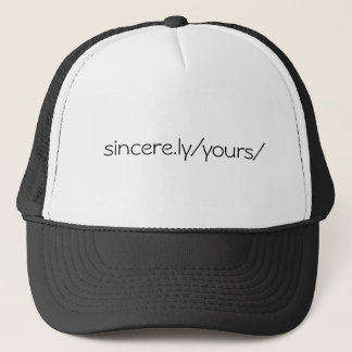sincere.ly/yours trucker pet