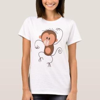 Singe mignon de danse t-shirt