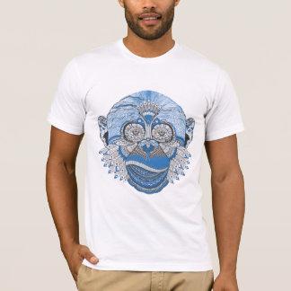 Singe psychédélique frais t-shirt