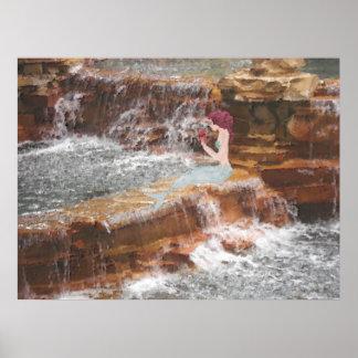 Sirène à la cascade