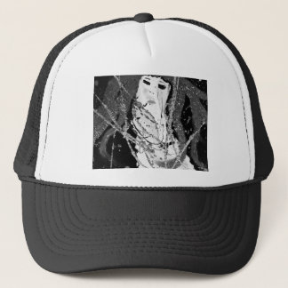 Sirène abstraite casquette
