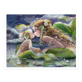 Sirène de Kissy et carte postale d'enfant