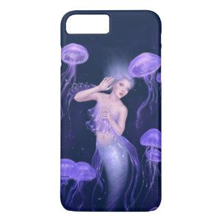 Sirène pourpre de méduses de bioluminescence coque iPhone 8 plus/7 plus