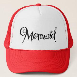 Sirène - rouge de casquette de camionneur