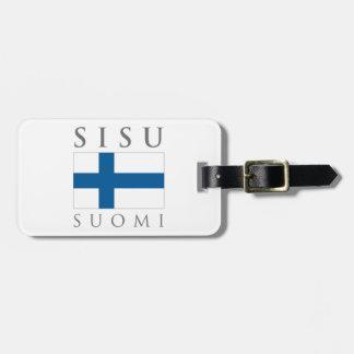 Sisu Suomi Étiquette À Bagage