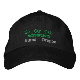 Six clubs d'arme à feu casquette brodée