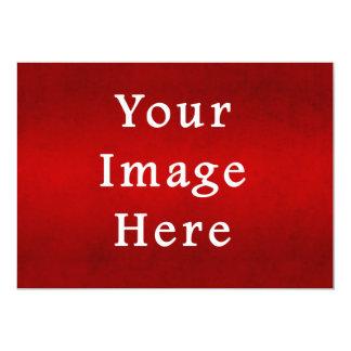 Sjabloon van de Kleur van het Perkament van 12,7x17,8 Uitnodiging Kaart
