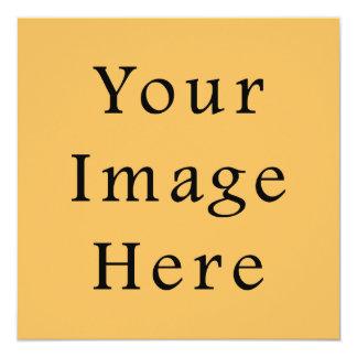 Sjabloon van de Tendens van de Kleur van de 13,3x13,3 Vierkante Uitnodiging Kaart