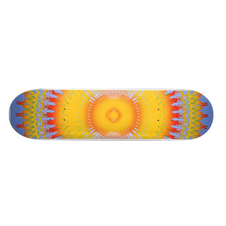Skateboard 19,7 Cm Flammes tribales : Planche à roulettes faite sur