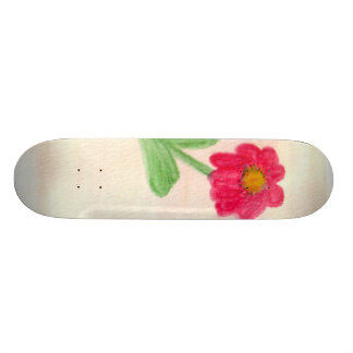 Skateboard 19,7 Cm Marguerite rouge