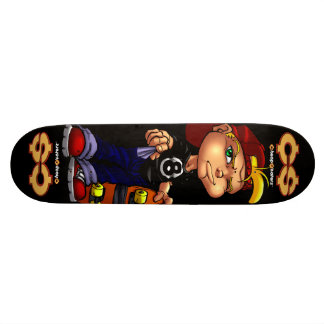 Skateboard 19,7 Cm Planche à roulettes bon marché de pauvres de