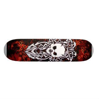 Skateboard 20,6 Cm Crâne de Kiler et planche à roulettes de