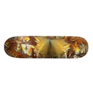 Skateboard 20,6 Cm IMG de FRACTALE de l'ALUMINIUM MANDELBULB 3D de