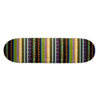 Skateboard 20,6 Cm Le tribal de Tambora a conçu la plate-forme de