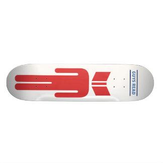 Skateboard 20,6 Cm Les types ont lu la planche à roulettes