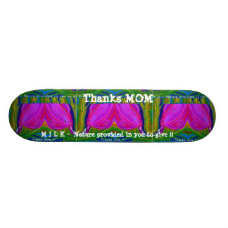 Skateboard 20,6 Cm MAMAN merci