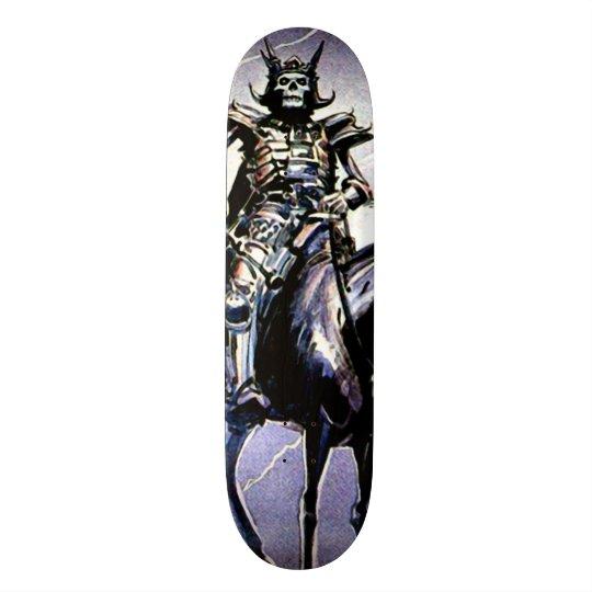 Skateboard 20,6 Cm Panneau fait sur commande de parc de cavalier pâle