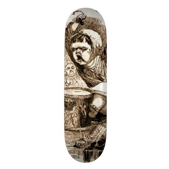 Skateboard 20,6 Cm Panneau fait sur commande de saucisse de mauvais
