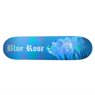 Skateboard 20,6 Cm Texte personnalisable d'arrière - plan de rose de