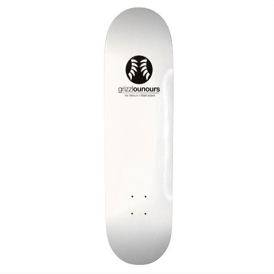 Skateboard 20 Cm Grizzzzzzzzzzzzz