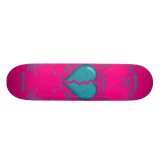 Skateboard 20 Cm Le coeur brisé/planche à roulettes tribale