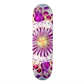 Skateboard 20 Cm Plate-forme de fractale de mandala