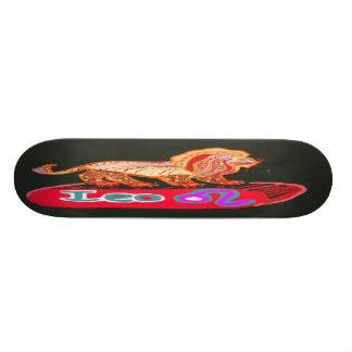 Skateboard 20 Cm Tour dessus à la gloire :  BirthStar LION