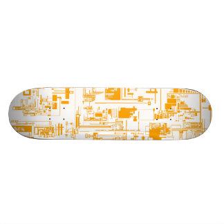 Skateboard 21,6 Cm Intégrez la planche à roulettes 1,0 transparente