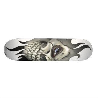 Skateboard 21,6 Cm Un regard d'un crâne
