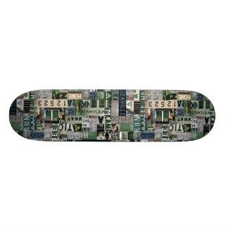 Skateboard Customisable Camp Scatico