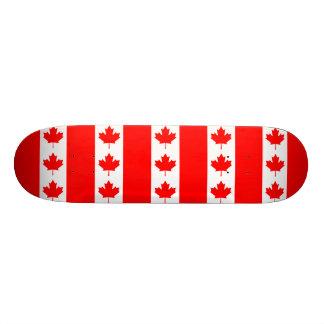 Skateboard Customisable Drapeau du Canada