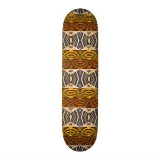 Skateboard Customisable motif tribal africain ethnique
